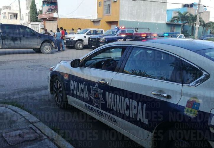 El área fue acordonada por los elementos policíacos. (Eric Galindo/ SIPSE)