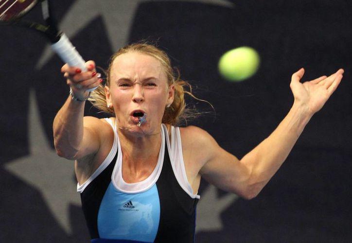 Caroline Wozniacki se llevó el premio mayor, 235 md, que repartió el torneo WTA de Luxemburgo. (Agencias)