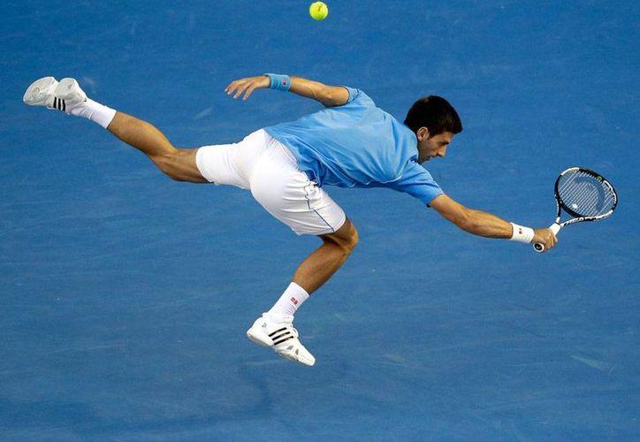 Novak Djokovic avanzó a las semifinales del torneo de Gran Slam Abierto de Australia. (AP)