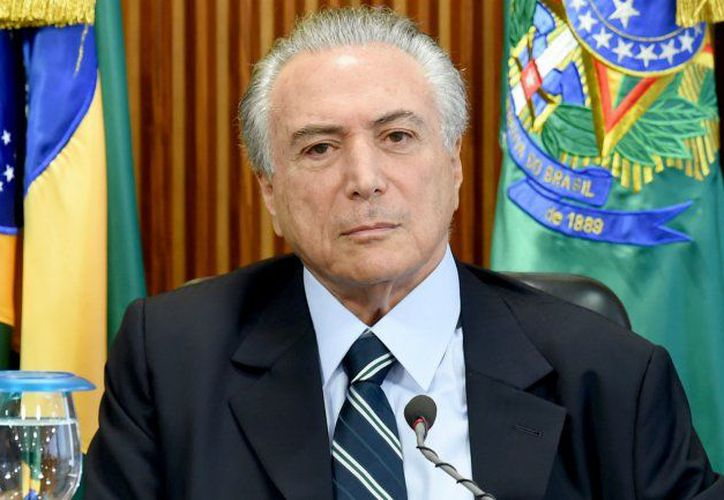 El presidente brasileño, Michel Temer concluirá su mandato el 31 de diciembre próximo. (Contexto/Internet)