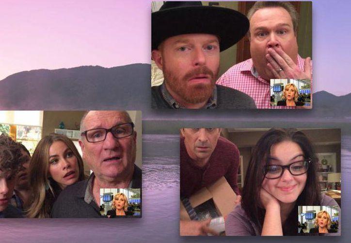 Con solo iphones los productores de 'Modern Family' decidieron grabar un capítulo entero de la serie de comedia. (fortune.com)