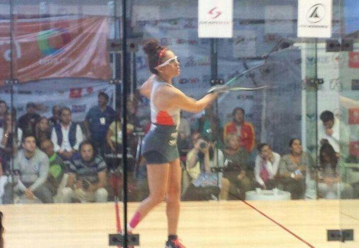 Paola Longoria se reafirma como la mejor en su especialidad, al ganar el Abierto Mexicano de Raquetas 2014. (Twitter/@paracomentarse)