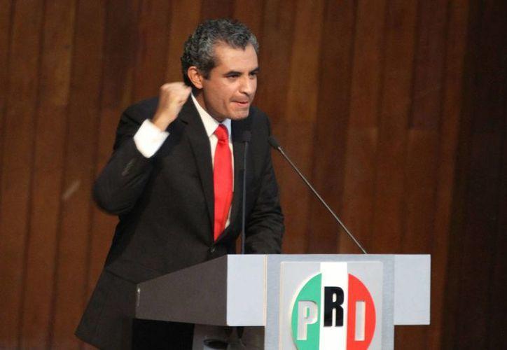 El presidente del PRI, Enrique Ochoa Reza, afirmó que para los comicios venideros el tricolor ofrecerá a los ciudadanos los mejores candidatos. (Archivo/Notimex)