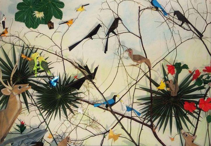 El taller de  Papiro Ornitología se realiza cada domingo en el Planetario de Cancún. (Redacción/SIPSE)