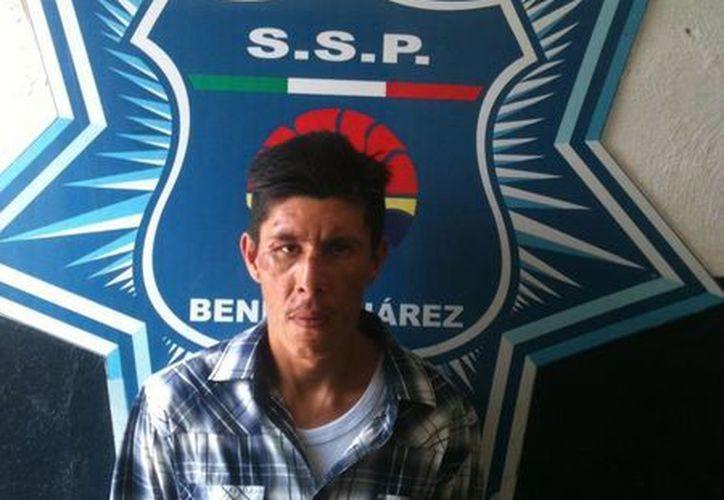 Raciel Aburto Sánchez fue puesto a disposición del Ministerio Público. (Cortesía/SIPSE)