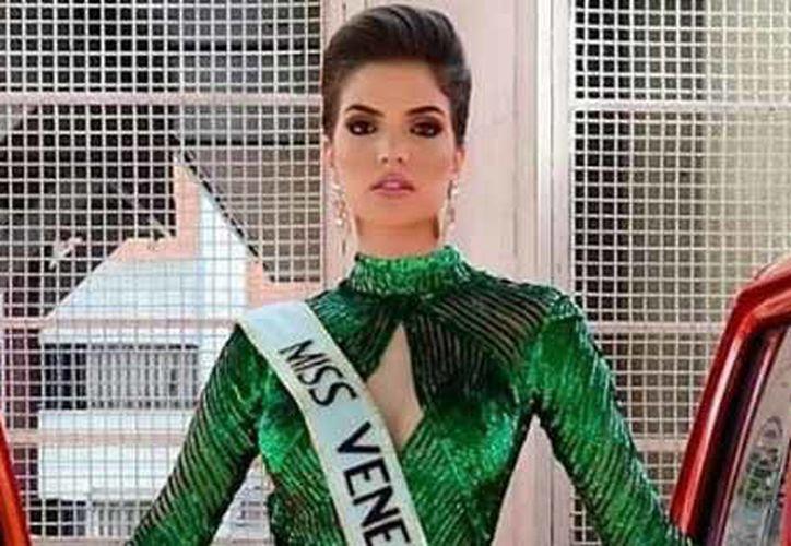 La joven anunció que ejercería acciones legales a fin de representar a Venezuela en Miss Mundo, hecho que provocó la cancelación de Miss Venezuela 2018. (Internet)