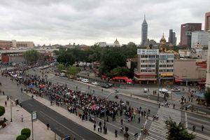 Se desbordan protestas de la CNTE en México