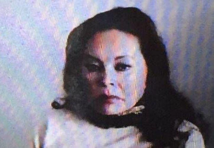 Elba Esther Gordillo durante una audiencia sobre su solicitud de prisión domiciliaria que se llevó a cabo mediante una videoconferencia. (José Antonio Belmont)