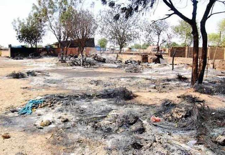 El ejército atacó un campamento de los insurgentes con apoyo aéreo. (Agencias/Contexto)