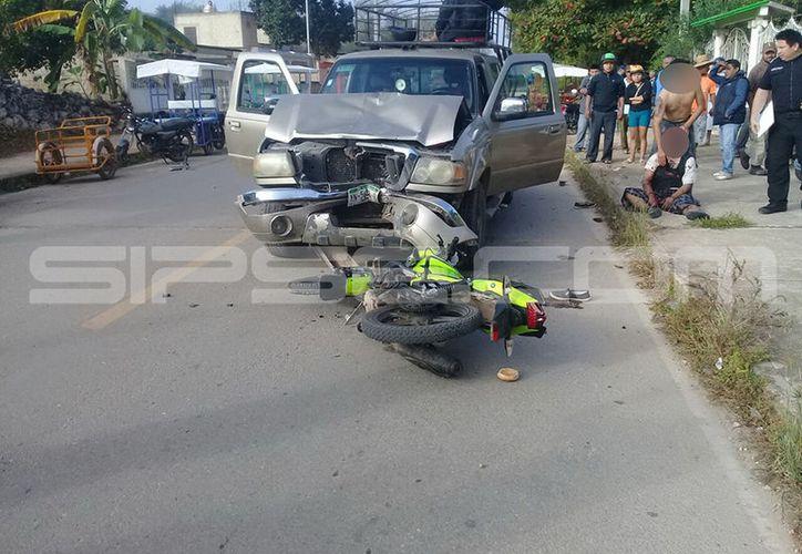 El accidente destrozó a una familia del municipio de Peto. (SIPSE)