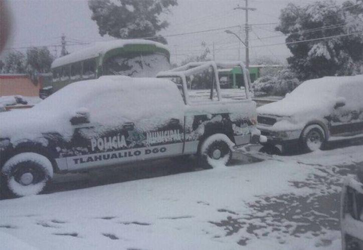 Hay posibilidad de caída de nieve en las zonas de montaña de estados como Chihuahua, Coahuila, Durango, San Luis Potosí. (Twitter)