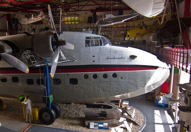 Aseguran haber presenciado una actividad paranormal en una histórica aeronave exhibida en museo. (Foto: RT)