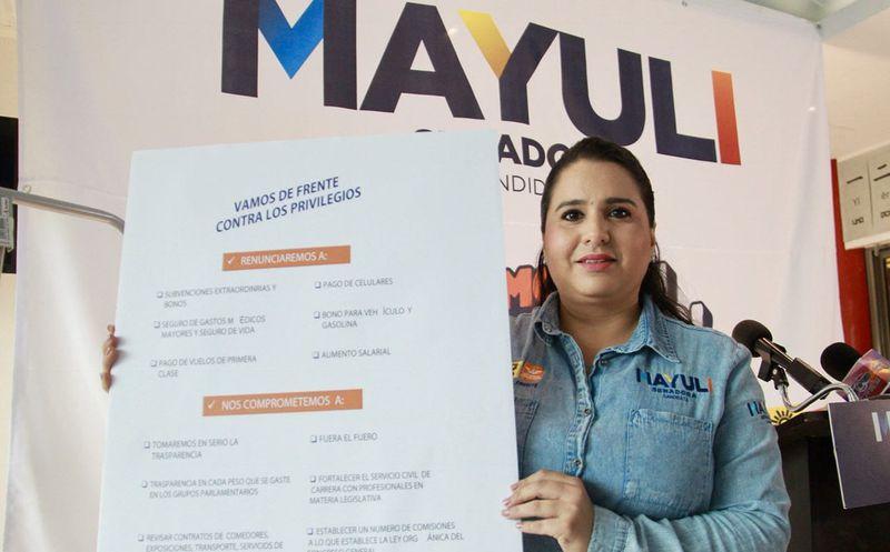 Mayuli anunció que se une a la iniciativa de Código de Ética Pública. (Foto: Redacción)