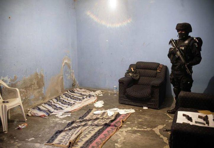Fuerzas federales rescataron a 5 víctimas de secuestro, en el Estado de México. (Imagen de contexto/mexicoenterado.com)