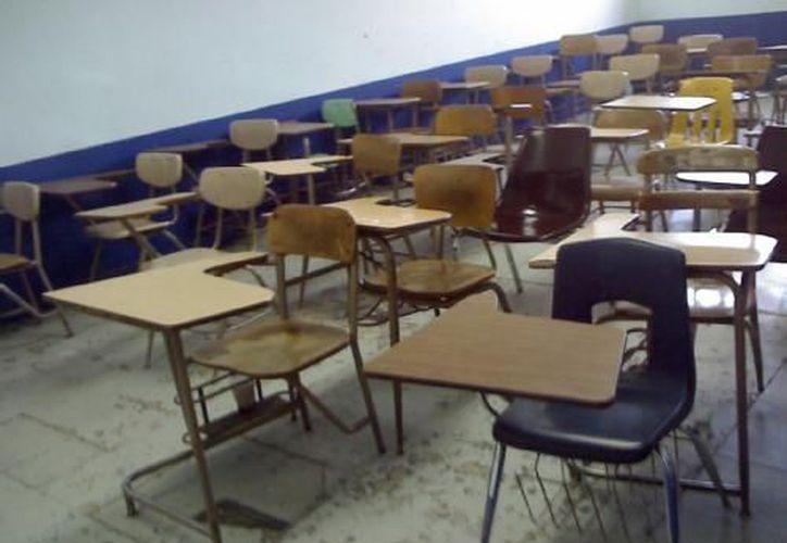 Por falta de alumnnos en planteles de primaria y secundaria de Chetumal han sido cerrados o fusionados los turnos de la tarde. (Redacción/SIPSE)