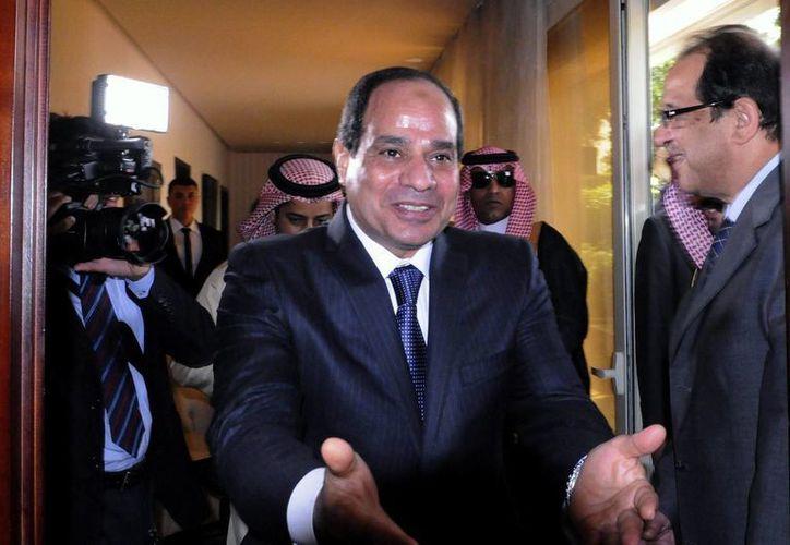Fotografía de archivo del pasado 19 de mayo que muestra al ex ministro de Defensa de Egipto y nuevo presidente de Egipto, Abdelfatah al Sisi. (Archivo/EFE)