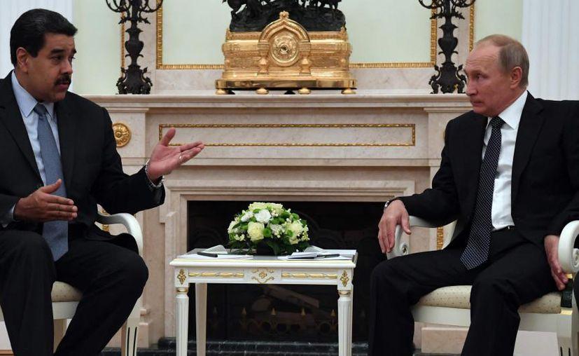 Moscú no mantiene contactos con Washington sobre la crisis en Venezuela. (Internet)