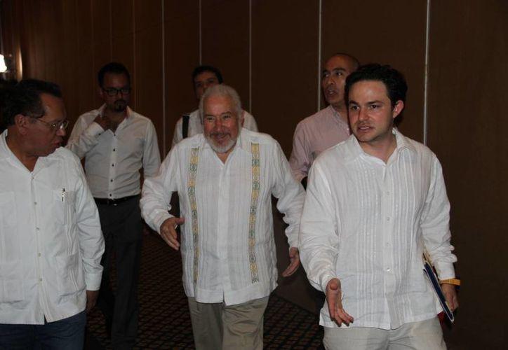 Durante la inauguración de la conferencia se tuvo la presencia de José Alejandro Luna Ramos, magistrado presidente de la Sala Superior del TEPJF. (Tomás Álvarez/SIPSE)