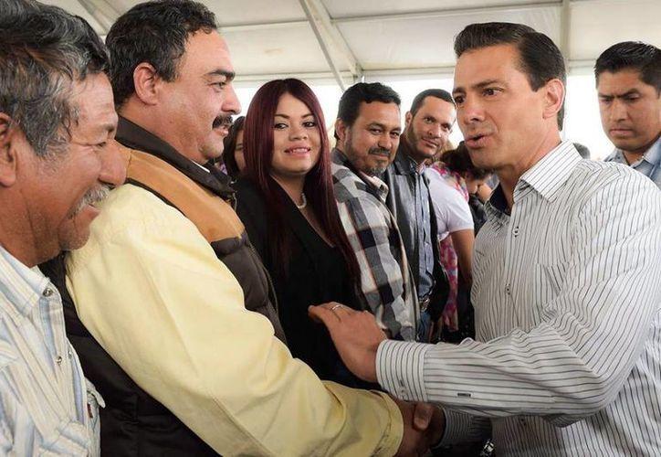 El Presidente inauguró la planta de carne más grande de México en Tlahualito, Durango. (Presidencia)