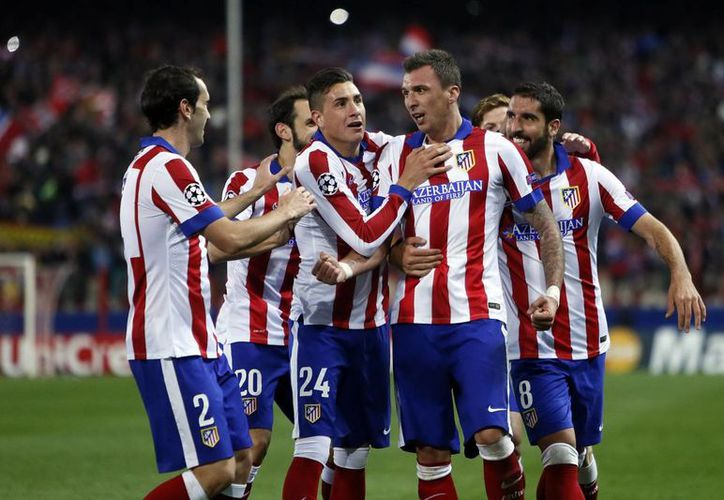 El Atlético de Madrid ganó en Copa del Rey con goles de  Antoine Griezmann, Gabi Fernández y Cristian Rodríguez. (Foto de archivo de Notimex)