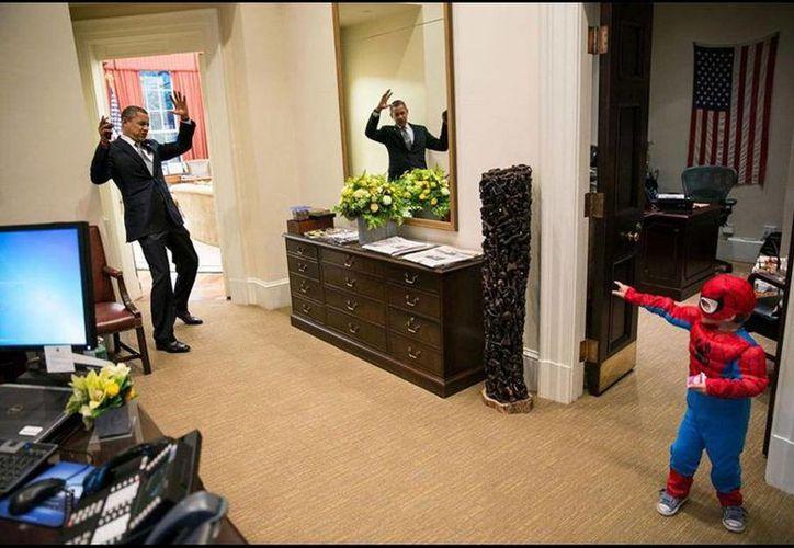 Pete Souza, el fotógrafo de la Casa Blanca, pudo inmortalizar cada gesto y cada broma que realizó durante su mandato Barack Obama. (Pete Souza)
