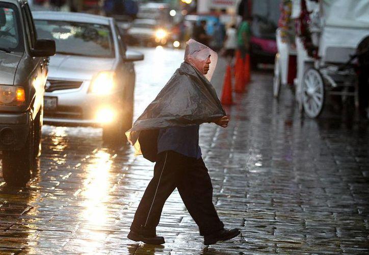 El SMN indica que en buena parte del territorio mexicano subirá el promedio de lluvias en los próximos tres meses. (Notimex)