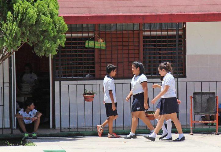 Las escuelas que deseen certificarse deben solicitar el inicio de la capacitación. (Jesús Tijerina/SIPSE)