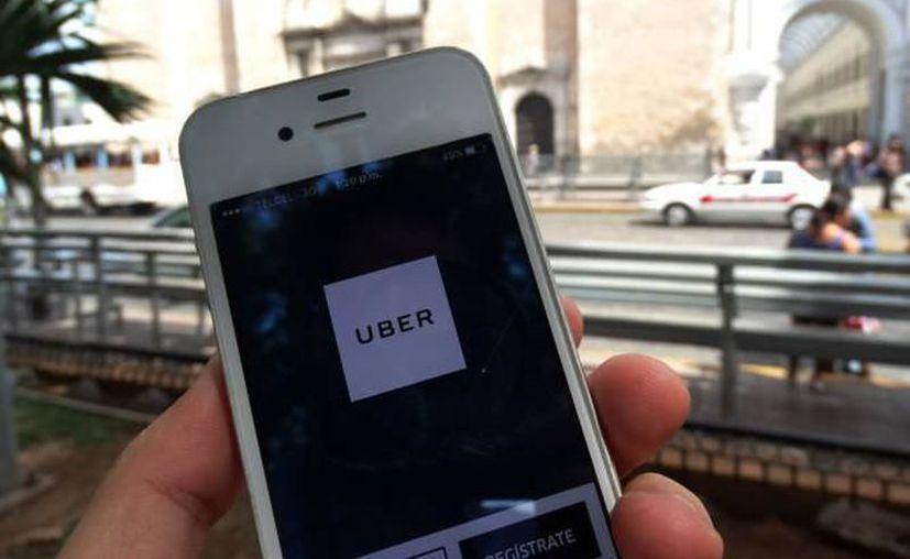 Al no estar registrada ante la DTEY, la plataforma Uber sigue siendo ilegal en el estado. (C. Coquet/ SIPSE)