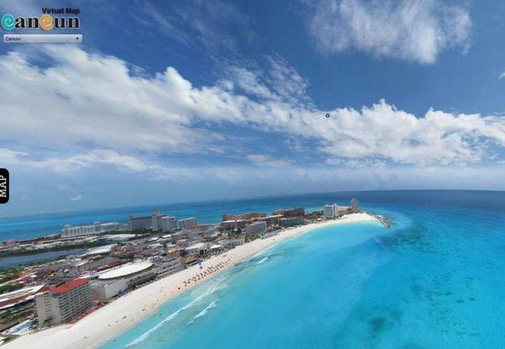 Google Maps ofrecerá vistas de las playas de Cancún. (Redacción)