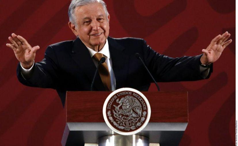 López Obrador adelantó que daría un informe de los avances del Gobierno el 1 de julio, a un año de su victoria en las elecciones presidenciales de 2018. (Agencia Reforma)