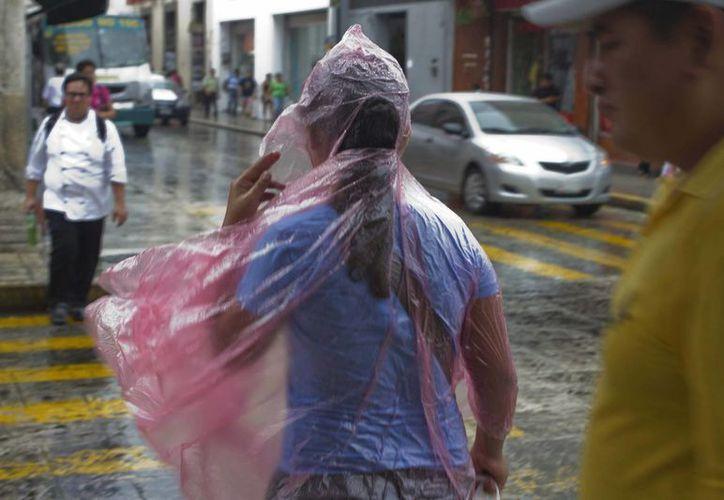 La onda tropical 8 provocatá lluvias intensas de hasta 150 mililitros en algunos estados. La imagen corresponde a la ciudad de Mérida, Yucatán. (Notimex)