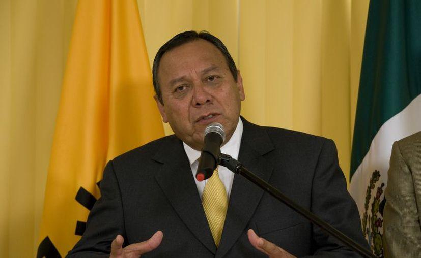 Jesús Zambrano, líder del PRD, es quien preside la reunión. (Archivo/Notimex)