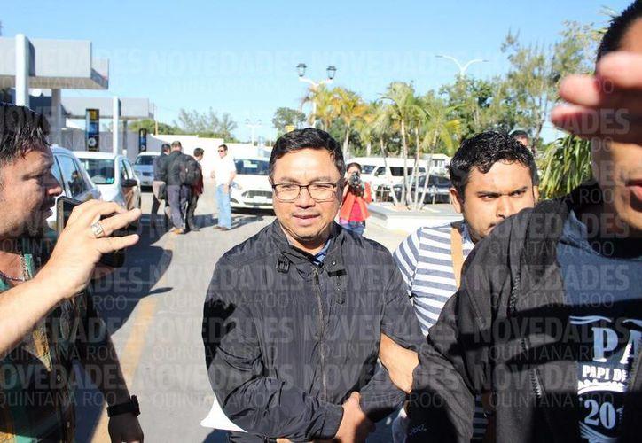 El ex director de la Apiqroo ya enfrentó su primera audiencia ante el juzgado penal oral en Chetumal. (Foto: Joel Zamora)