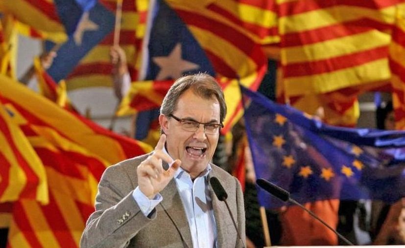 Artur Mas es el principal promotor de la independencia de Cataluña. (AP)