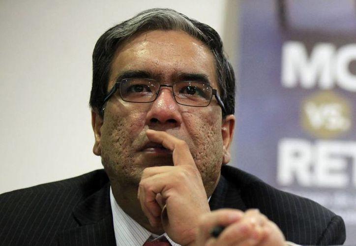 Mauricio López es el nuevo presidente del PRI-DF. (Notimex/Archivo)