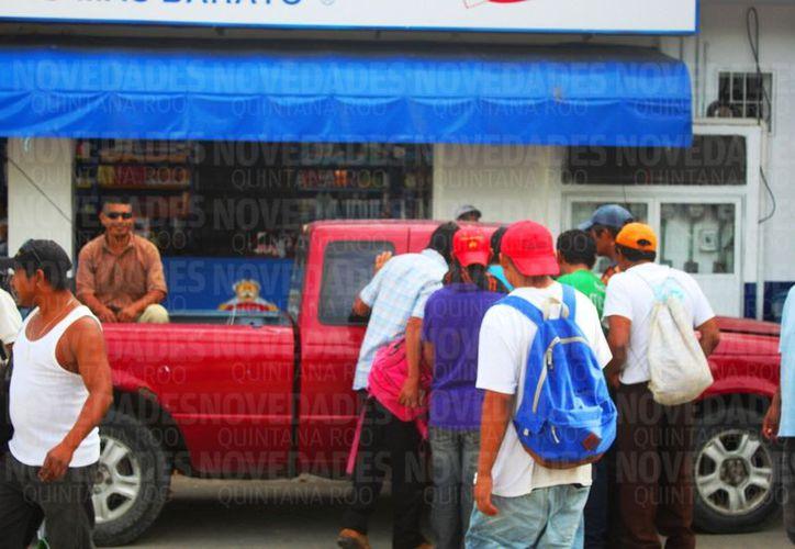 Calculan que más de 20 mil migrantes guatemaltecos viven en Quintana Roo. (Daniel Pacheco/SIPSE).