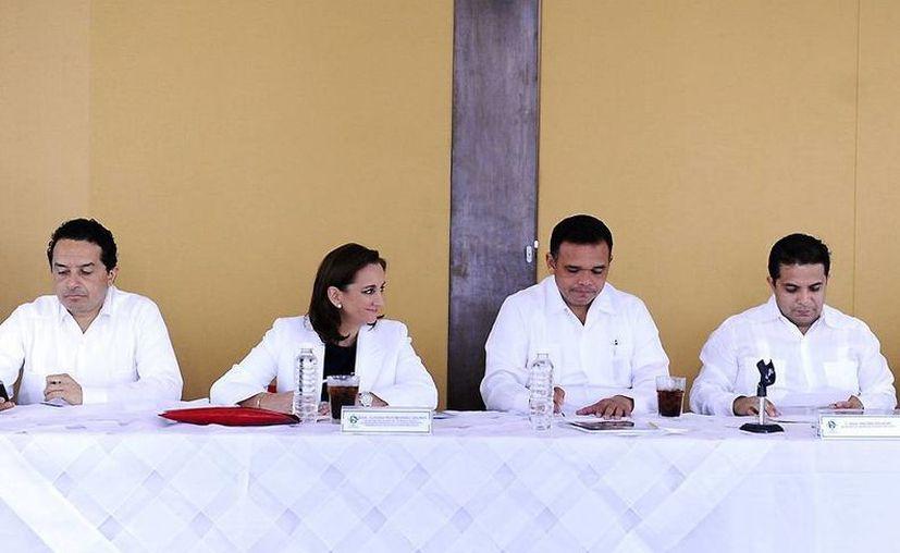 Ruiz Massieu indicó que se realizarán mesas de trabajo para sentar bases y crear políticas y estrategias para posicionar a México como destino turístico. (Cortesía)