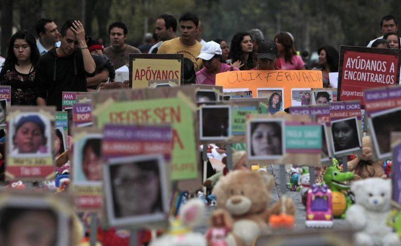 El Día Nacional contra la Desaparición Forzada fue decretado en 2004 por el Congreso de Guatemala, tras una gestión de organizaciones sociales como el Grupo de Apoyo Mutuo (GAM). (Archivo/EFE)