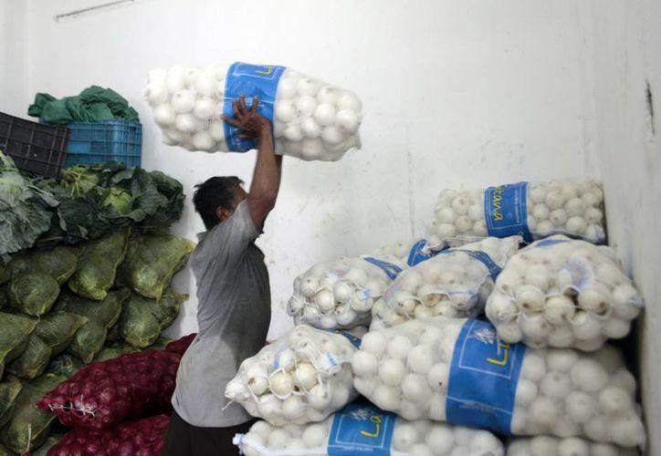 Muchos de los productos agrícolas que se expenden en Mérida provienen de las zonas afectadas. (Milenio Novedades)