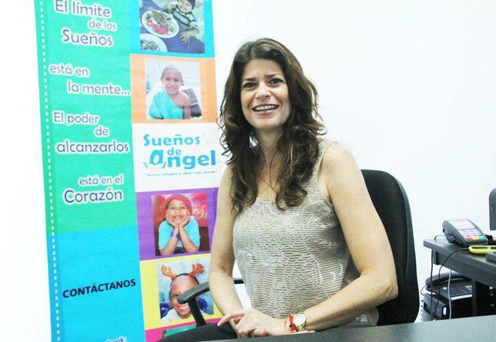 Desde hace 15 años Evia Ancona forma parte de la asociación para apoyar a pacientes de oncología pediátrica del Hospital O'Horán . (Milenio Novedades)