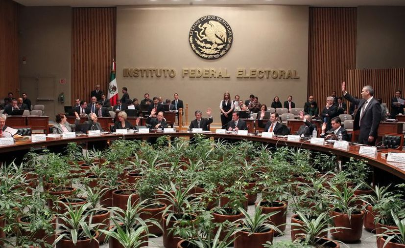 La publicación en internet del padrón de afiliados se hará  una vez que haya quedado firme la resolución del Consejo General del IFE. (Notimex)