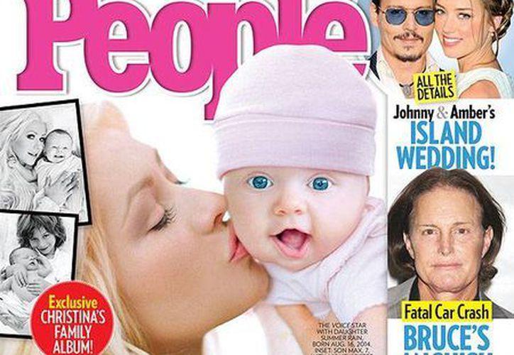 Christina Aguilera pospondrá por algún tiempo sus compromisos laborales, incluido su rol en The Voice, debido a la maternidad. (celebritybabies.people.com)