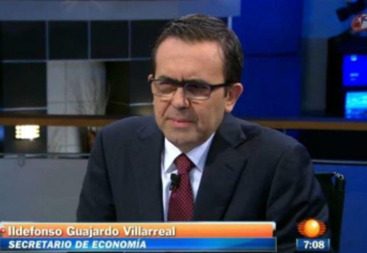 Entrevistado en Primero Noticias por Carlos Loret de Mola, el secretario explicó que en general frutas y verduras han sufrido un alza en su precio debido al clima y  plagas. (Captura de pantalla)