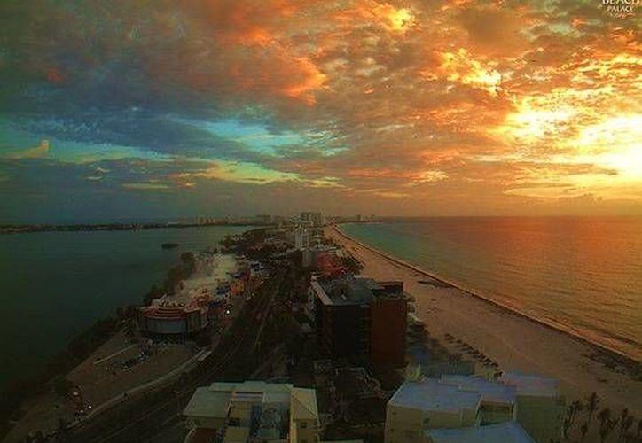 En esta época del año la duración del día es más corta y las noches más largas. (Webcams de México)