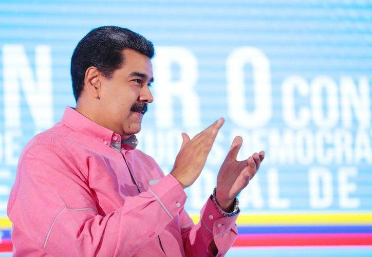 """El lunes pasado, durante una entrevista con la radio Jovem Pan, Bolsonaro declaró que Venezuela """"no puede continuar como está"""".  (Foto: Twitter/@NicolasMaduro)"""