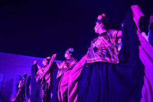 Paseo de ánimas de vida al Día de Muertos en Mérida