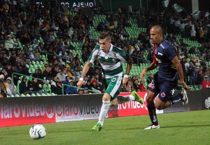 El Santos se colocó en el subliderato del torneo Apertura 2013. (Foto: Notimex)