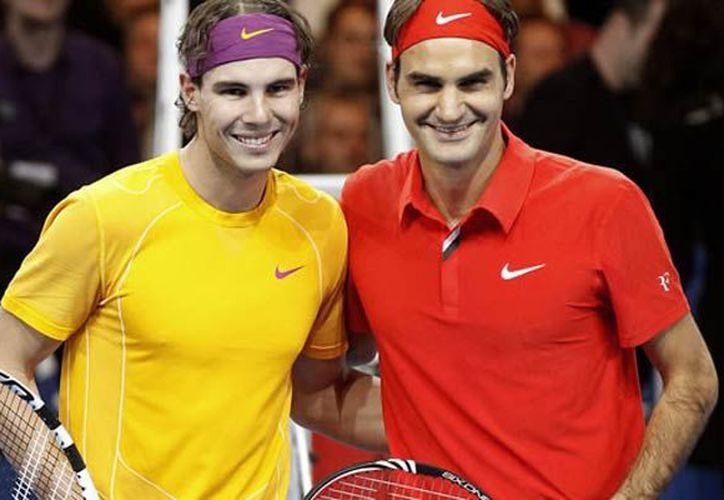 El tenista español Rafael Nadal, número uno del mundo, comparte mismo cuadro con el suizo Roger Federer. (Contexto)