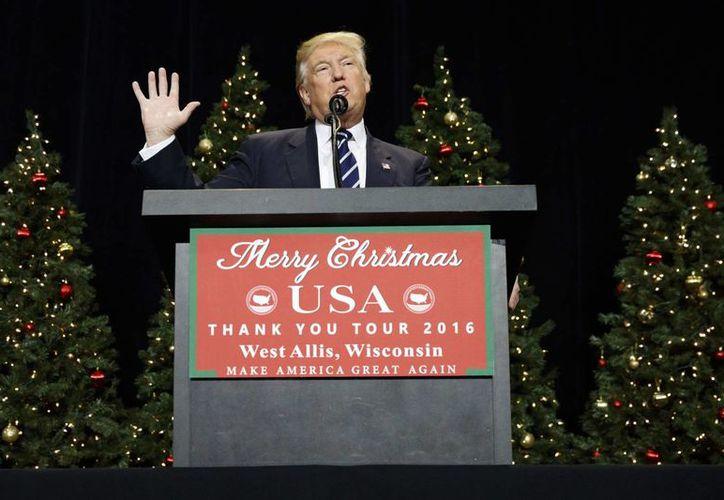 Donald Trump volvió a levantar polémica al criticar la función de la Organización de las Naciones Unidas. (AP/Evan Vucci)