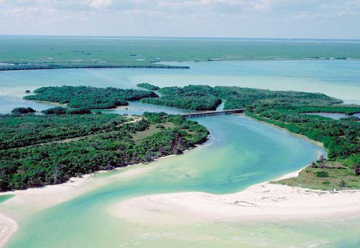 La Reserva de la Biósfera de Sian Ka'an será la zona en la que se desarrollará el programa piloto de Medidas de Adaptación de Humedales Costeros del Golfo de México.  (Redacción/SIPSE)